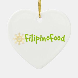 Comida filipina ornamentos para reyes magos