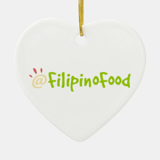Comida filipina ornatos