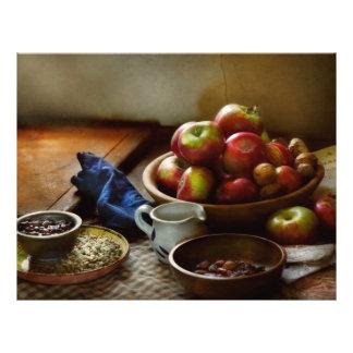 Comida - fruta - aliste para el desayuno flyer