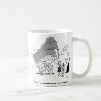 Comida gigantesca taza de café