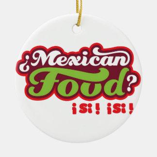 COMIDA MEXICANA ADORNOS