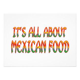 Comida mexicana anuncios