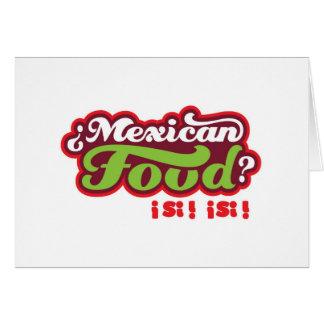 COMIDA MEXICANA FELICITACIONES