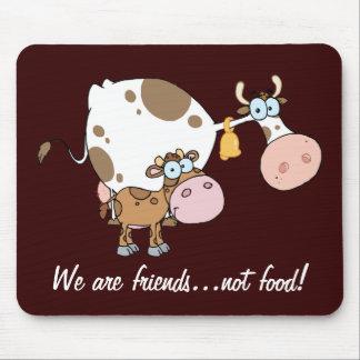 Comida Mousepad de los amigos no