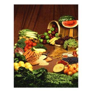 Comida sana folleto 21,6 x 28 cm