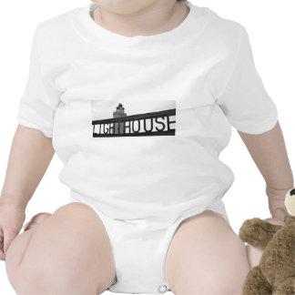 Comience el regalo de la fotografía del faro del p traje de bebé
