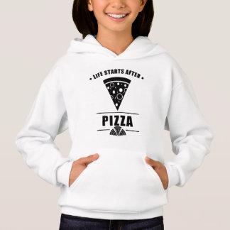 Comienzo de la vida después de la PIZZA