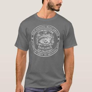 Comité de la camiseta de la oscuridad de la