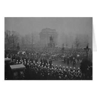 Comitiva fúnebre de la reina Victoria Tarjetas