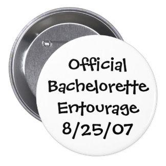 Comitiva oficial de Bachelorette Chapa Redonda 7 Cm
