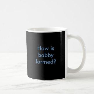 ¿Cómo babby se forma? Taza De Café