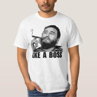 Como Boss - Fidel Castro Camiseta