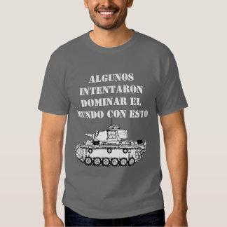 Como dominar el mundo - Oscura Basica Camiseta