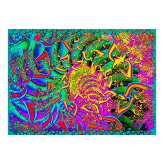 Como el fractal psicodélico 3D del caramelo
