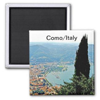 Como en imán del recuerdo de Italia