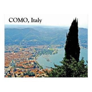 Como en Italia - postal