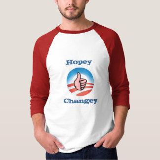¿Como esa cosa entera del changey del hopey? Camiseta