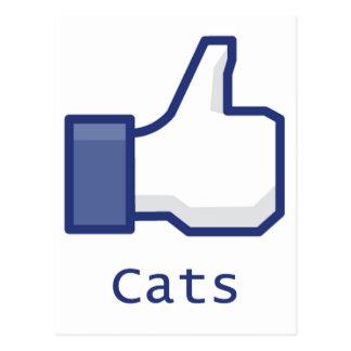 Como gatos postal