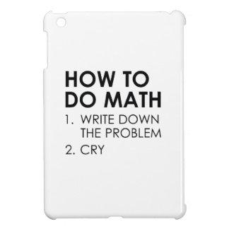 Cómo hacer matemáticas