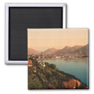 Como I, lago Como, Lombardía, Italia Imán Cuadrado
