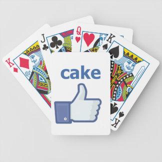 COMO la torta Baraja De Cartas