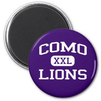 Como - leones - High School secundaria de Como - F Imán Redondo 5 Cm