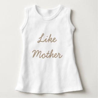 Como madre, como hija vestido