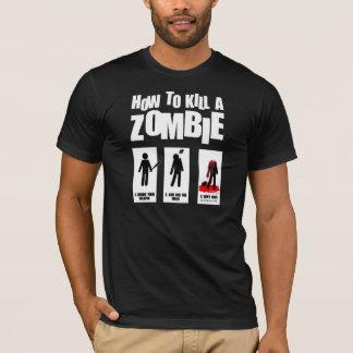 Cómo matar a un zombi: Para el camisetas oscuro