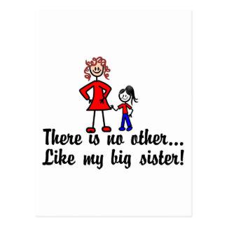 Como mi hermana postal