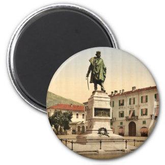 Como, monumento de Garibaldi, Como, lago de, vin d Imanes De Nevera
