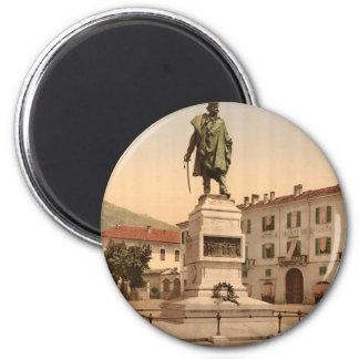 Como, monumento de Garibaldi Imán Redondo 5 Cm