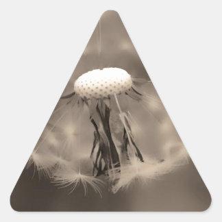 como naturaleza clock.jpg previsto pegatina triangular