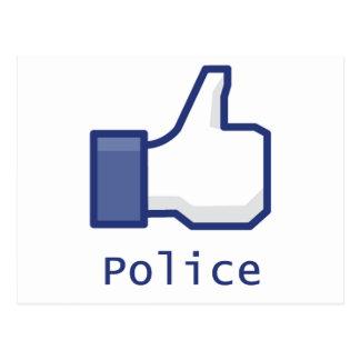 Como policía postal