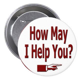 Cómo puedo ayúdele a abotonar chapa redonda de 7 cm