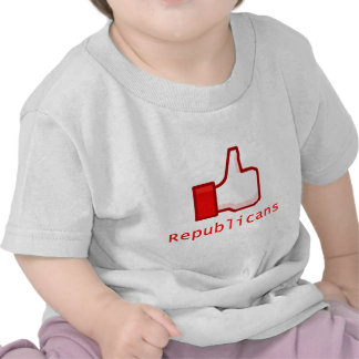 Como republicanos camisetas