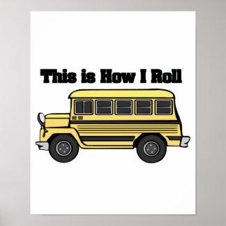 Cómo ruedo (el autobús escolar) póster