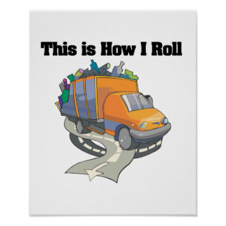 Cómo ruedo (el camión de basura) póster