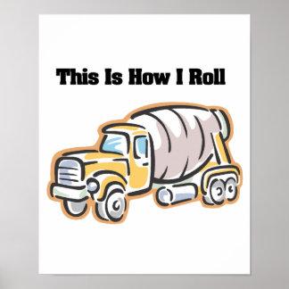 Cómo ruedo (el camión del cemento) poster