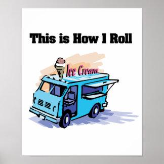 Cómo ruedo (el camión del helado) póster
