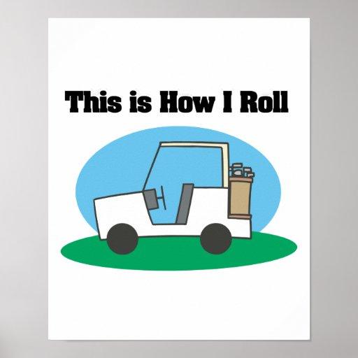 Cómo ruedo (el carro de golf) poster