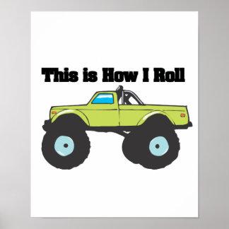 Cómo ruedo (el monster truck) póster