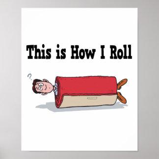 Cómo ruedo la alfombra posters
