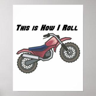 Cómo ruedo (la bici de la suciedad) póster