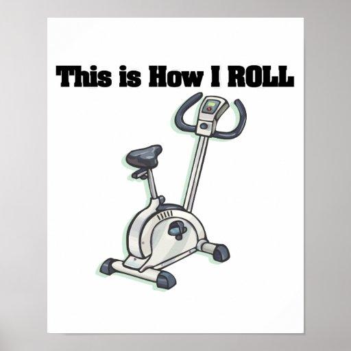 Cómo ruedo (la bicicleta estática) poster