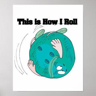 Cómo ruedo la bola de bolos impresiones