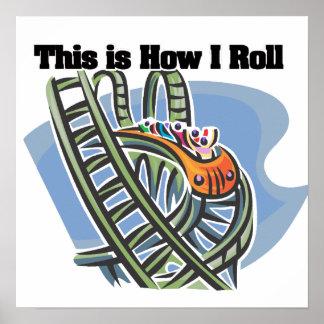 Cómo ruedo (la montaña rusa) póster