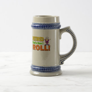 Cómo ruedo retiró (2) jarra de cerveza