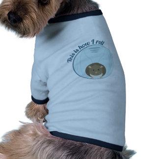 Cómo ruedo ropa de perro