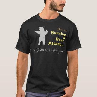 Cómo sobrevivir una camiseta divertida del ataque