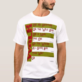 Camiseta ¿Cómo usted caminará hoy? La camiseta de los